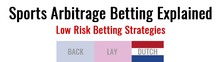 Sports Arbitrage Betting Explained: Low Risk Betting Strategies